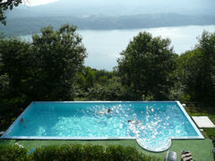 Villa Gelsomina - wonderful villa and pool with five fantastic holiday homes in superb setting above Lake Orta