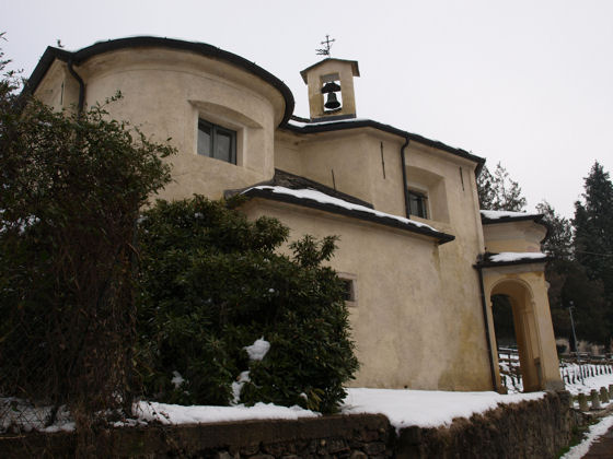 Oratorio Sant'Anna at Vacciaghetto - January 2009