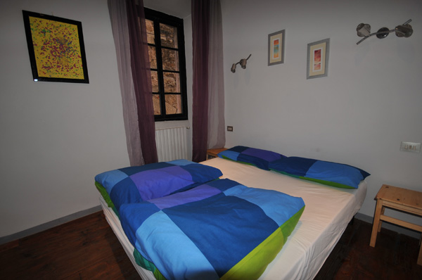 Master Bedroom of Calla in Orta San Giulio (picture August 2011)