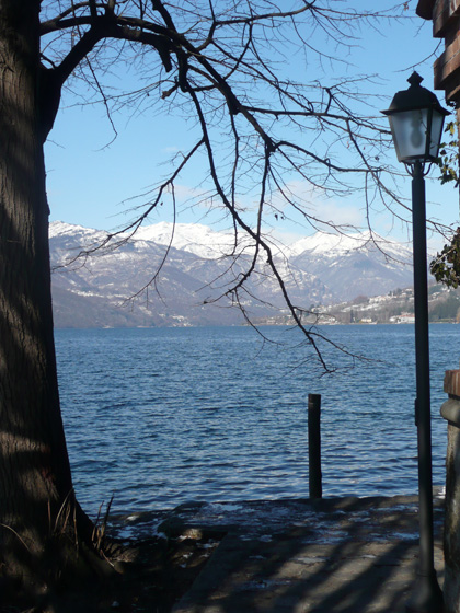 From the path around the Orta Peninsular (taken 15/2/2012)