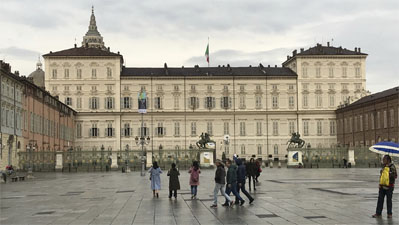 The Palazzo Reale in Torino